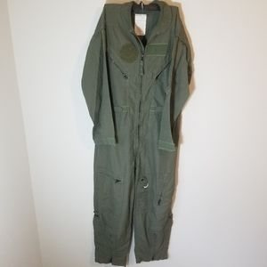 Air Force Flight Suit Size 44S Green